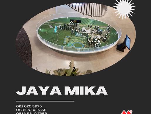 Akrilik Adiwarna Mika bisa digunakan untuk partisi maket developer pengembang perusahaan properti