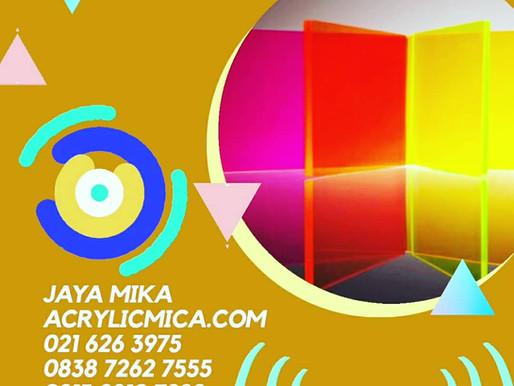 Warna Acrylic Adiwarna Mika sangat banyak & dapat dipesan untuk warna khusus dengan jumlah tertentu
