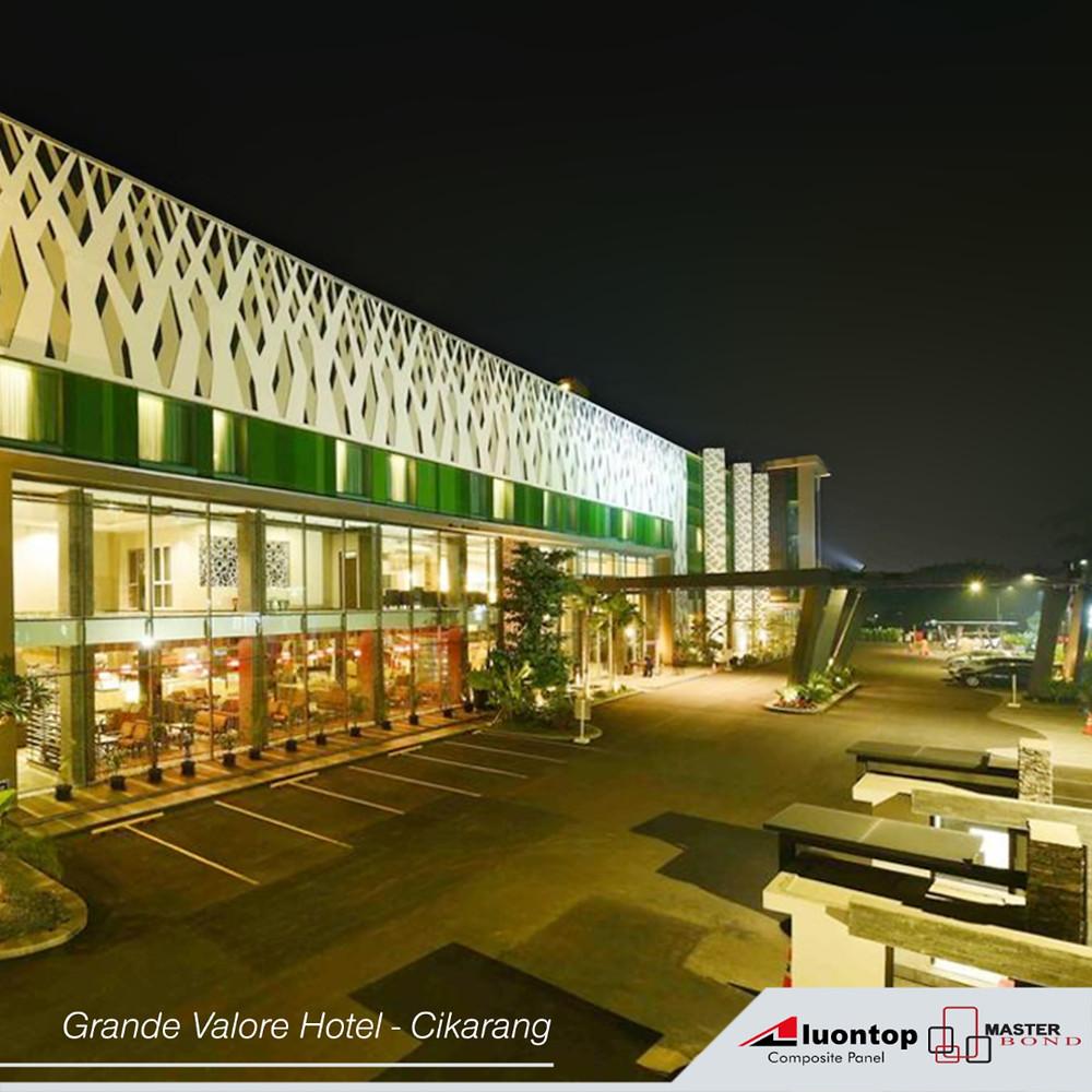 ACP Aluontop Untuk Hotel Grande Valore-Cikarang