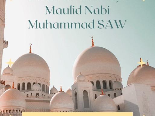 PT. Jaya Alam Persada mengucapkan Selamat Hari Raya Maulid Nabi Muhammad SAW.