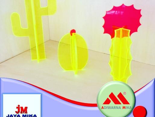 Akrilik Fluorescent Untuk Ide Kreatif Dekorasi