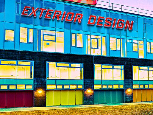 Acrylic Adiwarna Mika Dapat Dipergunakan Untuk Membuat Desain Eksterior (Exterior Design)