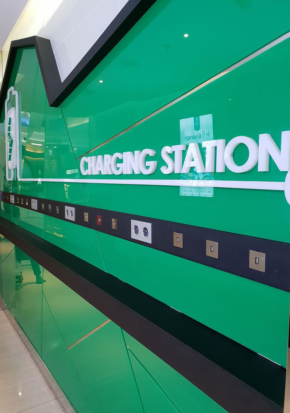 Charging Station Acrylic Sheet