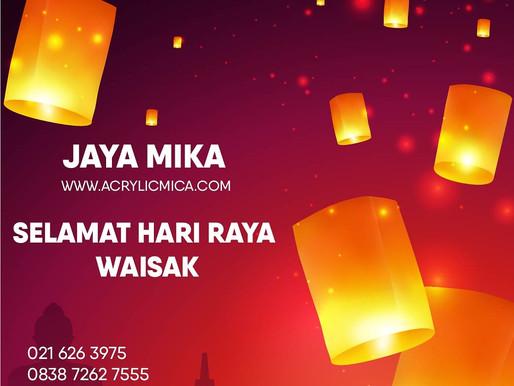 PT. Jaya Alam Persada mengucapkan selamat merayakan Hari Waisak 2565 BE tanggal 26 Mei 2021