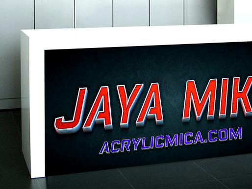 PT Jaya alam Persada (Jaya Mika) menjual produk akrilik, ACP dan produk-produk terbaik