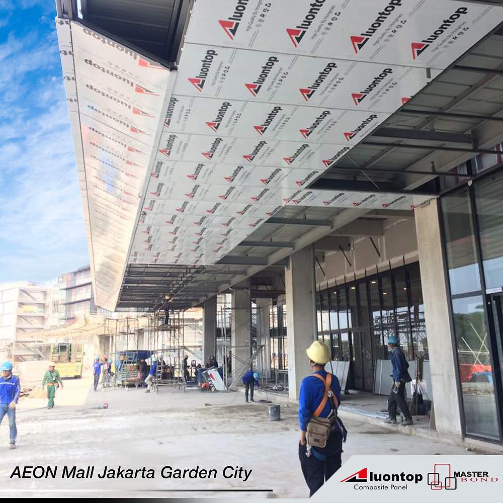 Penggunaan ACP Aluontop Untuk Mall