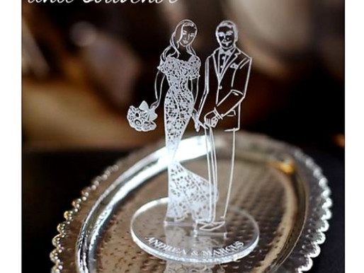 Acrylic For Wedding Accessories & Souvenirs