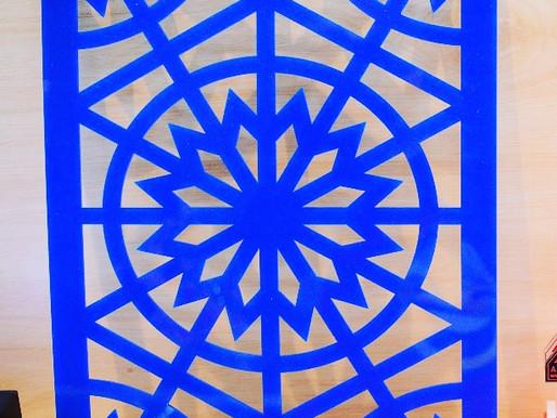 Acrylic Sheet Diporforasi