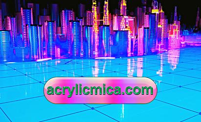 Solusi Acrylic Adiwarna Mika Untuk Kota Masa Depan Yang Modern Dan Indah