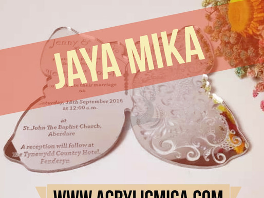 Acrylic Mirror For Invitation