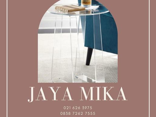 Clear Acrylic Adiwarna Mika untuk meja