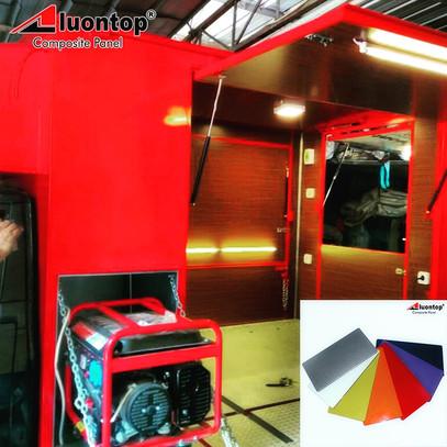 PVDF ACP Aluontop Food Truck