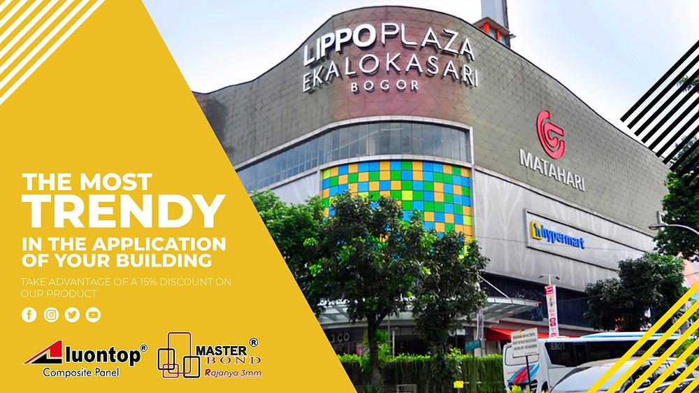 ACP Aluontop menjadi paling populer dalam penggunaan aplikasi pada bangunan Anda