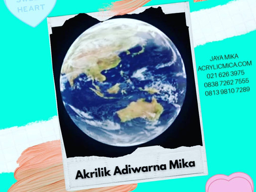 Acrylic Adiwarna Mika Is The Great Product In The World