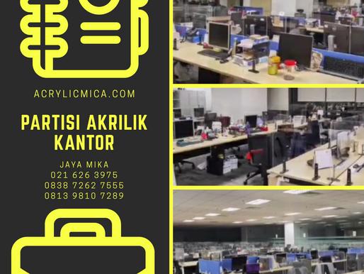 Partisi Akrilik Adiwarna Mika Untuk Kantor Di Indonesia