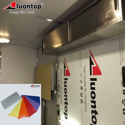 PE ACP Aluontop Food Truck