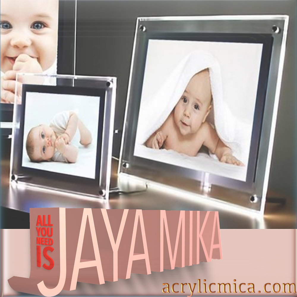 Acrylic Clear & Led For Photo Frames