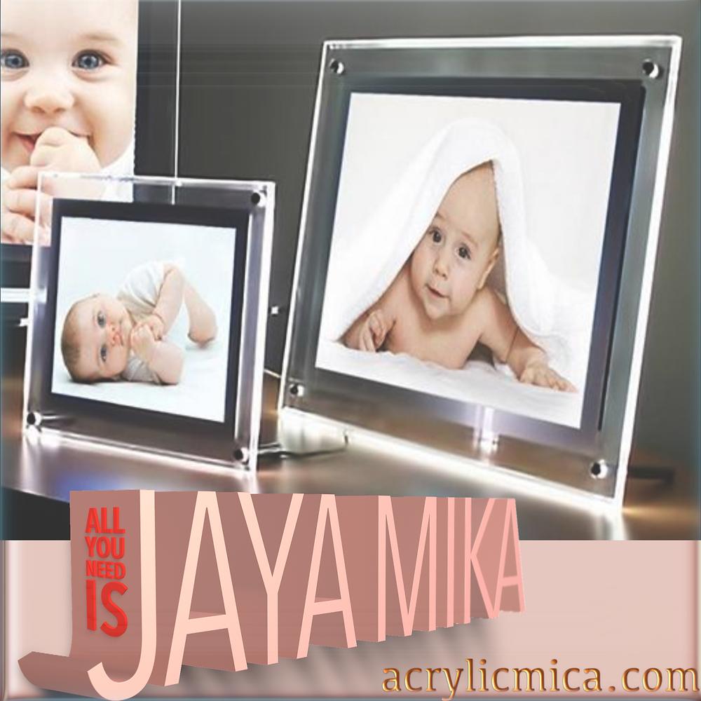 Acrylic Clear & Led For Photo Frames