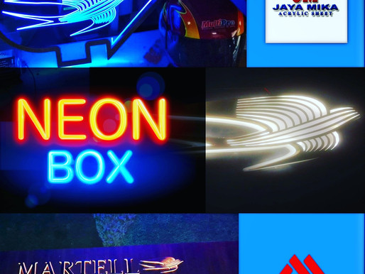 Neon Box in Advertising World