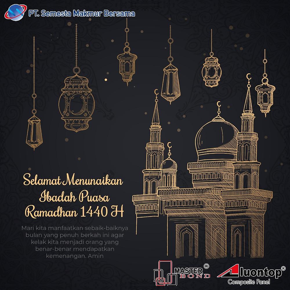 PT. Semesta Makmur Bersama Mengucapkan Selamat Menyambut Bulan Ramadan & Menunaikan Ibadah Puasa