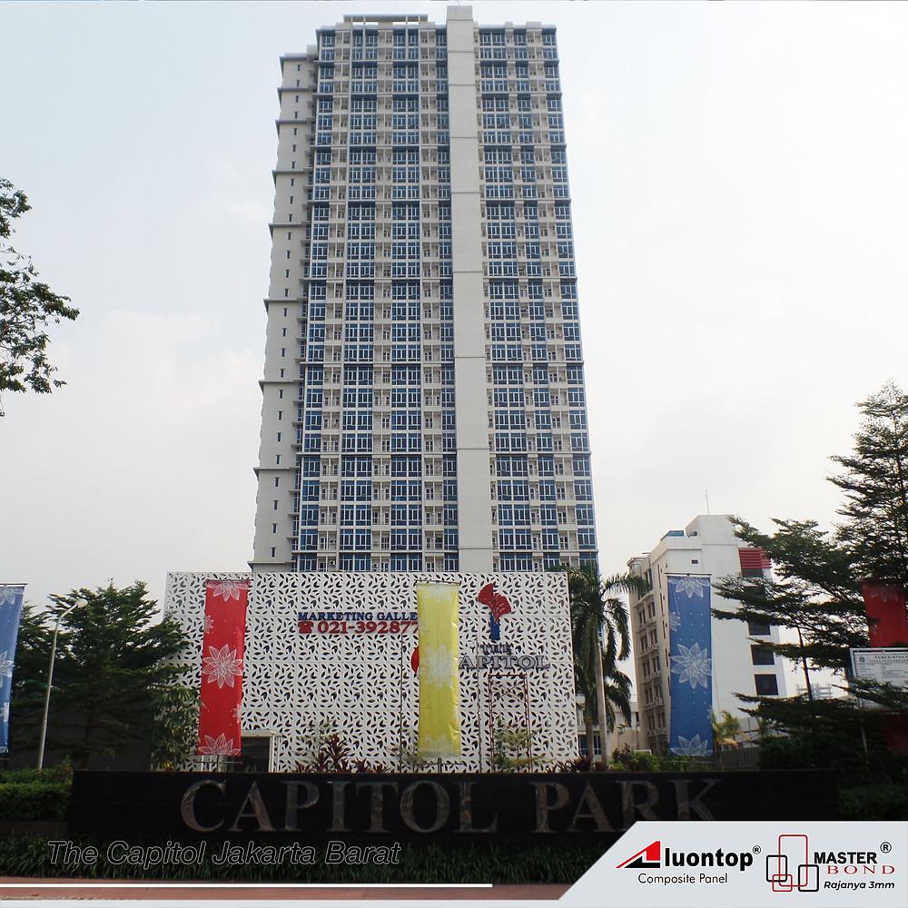 The Capitol Menggunakan ACP Aluontop Untuk Investasi Jangka Panjang