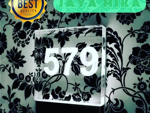Nomor Ruangan Dari Akrilik