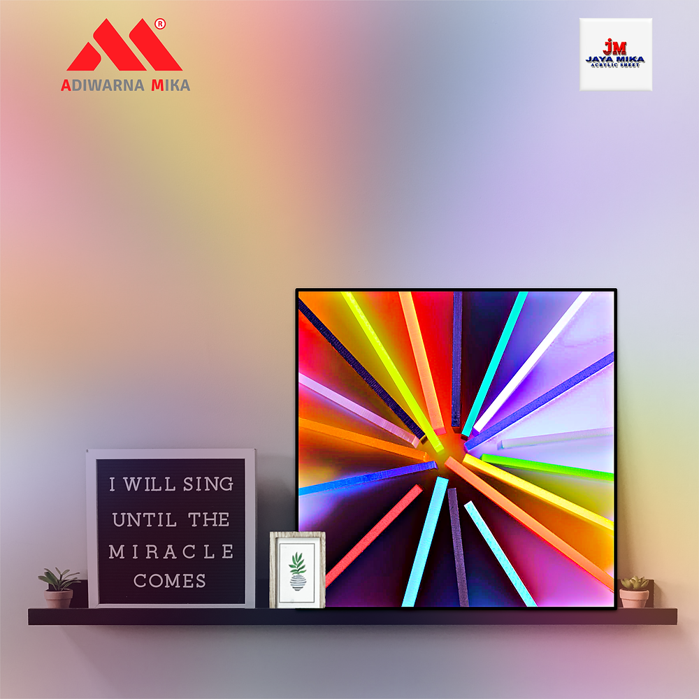 Acrylic Adiwarna Mika is Dedicated to Providing Solutions