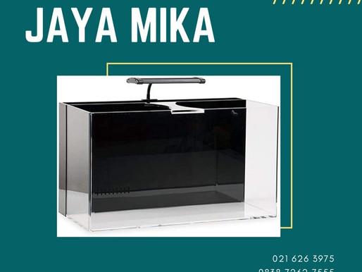 Akrilik Adiwarna Mika dapat digunakan untuk membuat akuarium yang cantik, unik dan modern