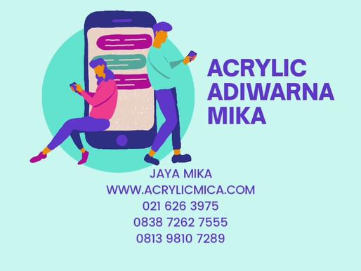 Jaya Mika memberi solusi terbaik untuk membeli Akrilik Adiwarna Mika dan ACP Aluontop secara online