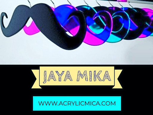 Acrylic Hanger of Various Colors
