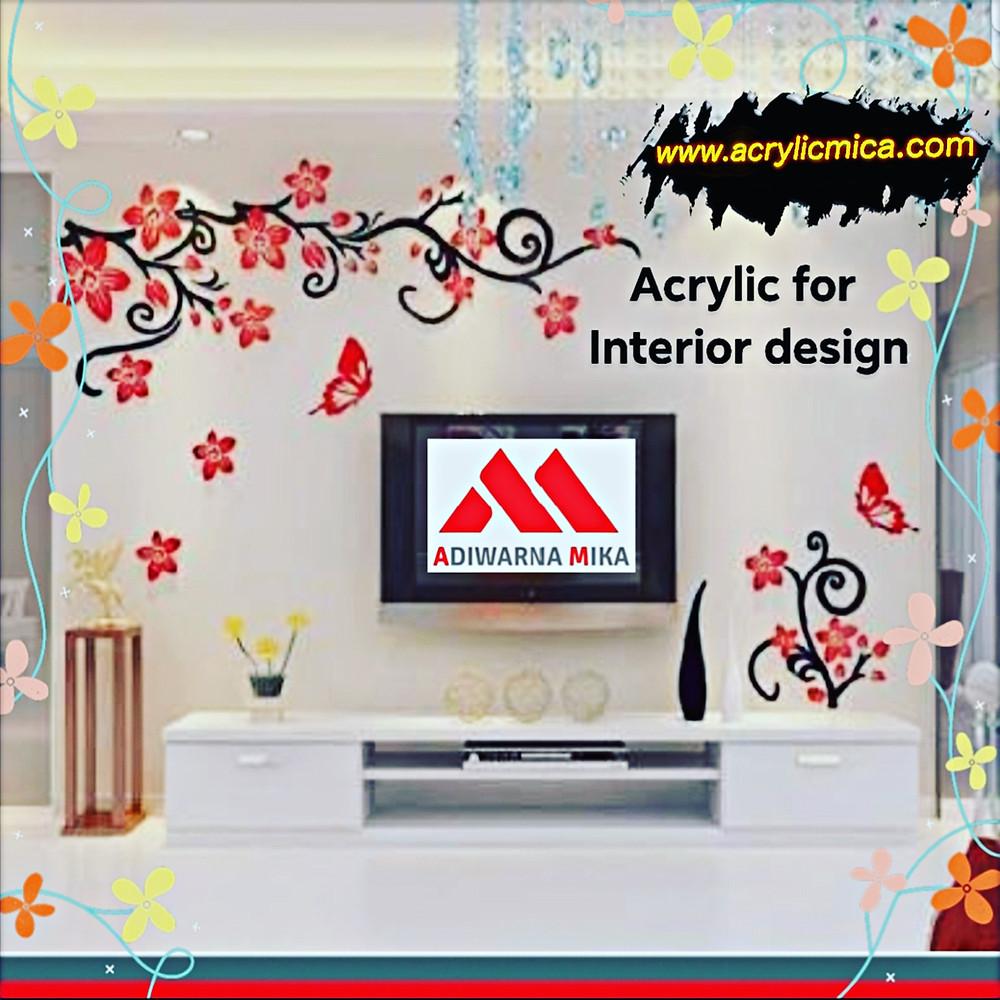 Acrylic Untuk Desain Ruangan