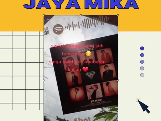 Custom Akrilik Adiwarna Mika menjadi produk kreatif untuk kado ulang tahun