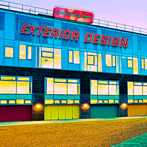 Acrylic Adiwarna Mika Can Be Used To Make Exterior Design