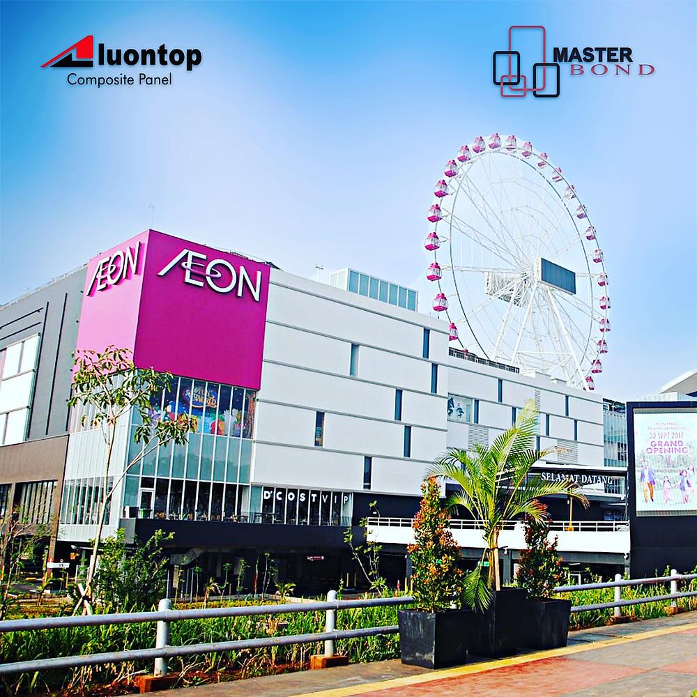 ACP Aluontop Untuk Mall