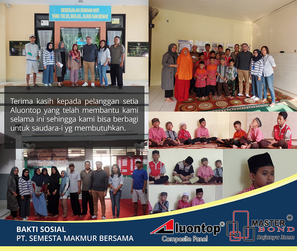 PT. Semesta Makmur Bersama Di Bulan Suci Ramadan 2019 Mengadakan Bakti Sosial