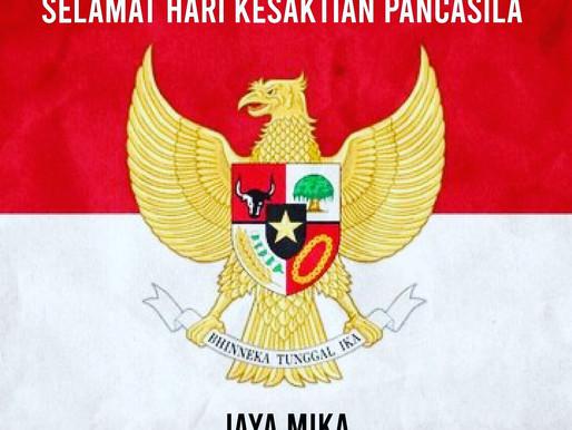 PT. Jaya Alam Persada (Jaya Mika) Mengucapkan Selamat Hari Kesaktian Pancasila 1 Oktober 2020