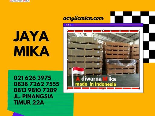 Akrilik Adiwarna Mika siap untuk dikirim ke seluruh Indonesia dan diekspor ke seluruh dunia