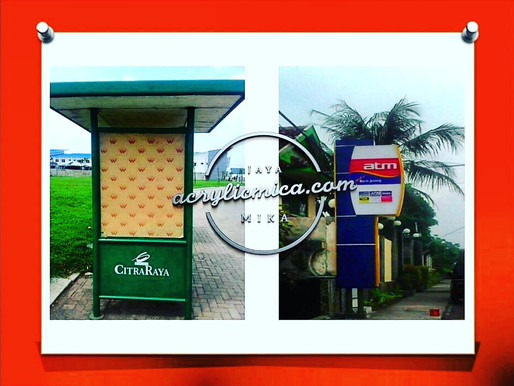 Use Of Acrylic Adiwarna Mika For Outdoor