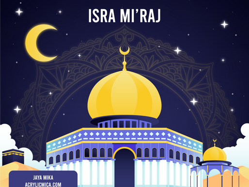 PT. Jaya Alam Persada mengucapkan selamat hari raya Isra Mi'raj tanggal 11 Maret 2021