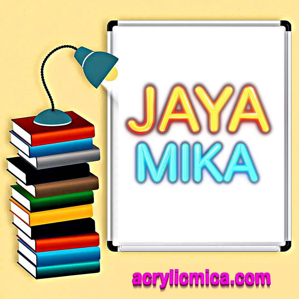 Acrylic Adiwarna Mika As One Of The Most Creative, Flexible & Attractive Products