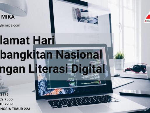 Selamat Hari Kebangkitan Nasional dengan Literasi Digital tanggal 20 Mei 2021