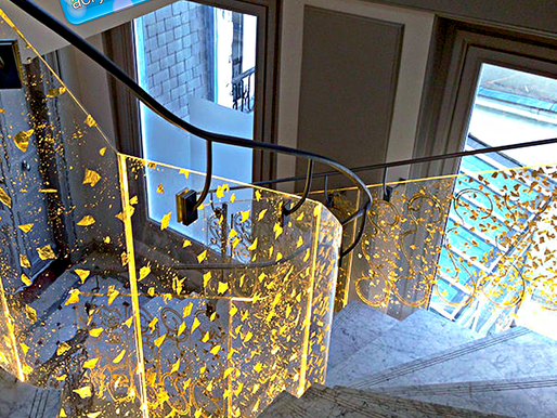 Acrylic Adiwarna Mika Can Be Used To Make Stairs Railing (Relling)