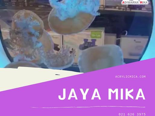 Akrilik Adiwarna Mika dapat digunakan untuk membuat akuarium yang indah, unik dan modern