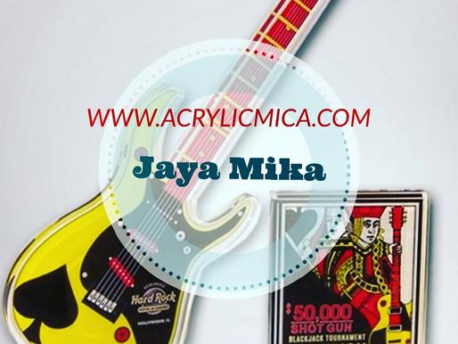 Akrilik Untuk Plakat Berbentuk Gitar