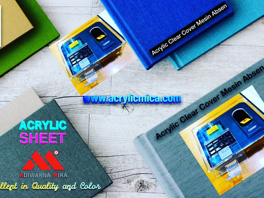 Cover For Attendance Machines From Clear Acrylic