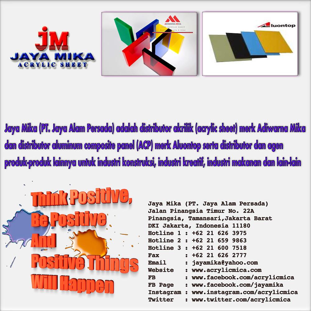 Kartu Nama Jaya Mika