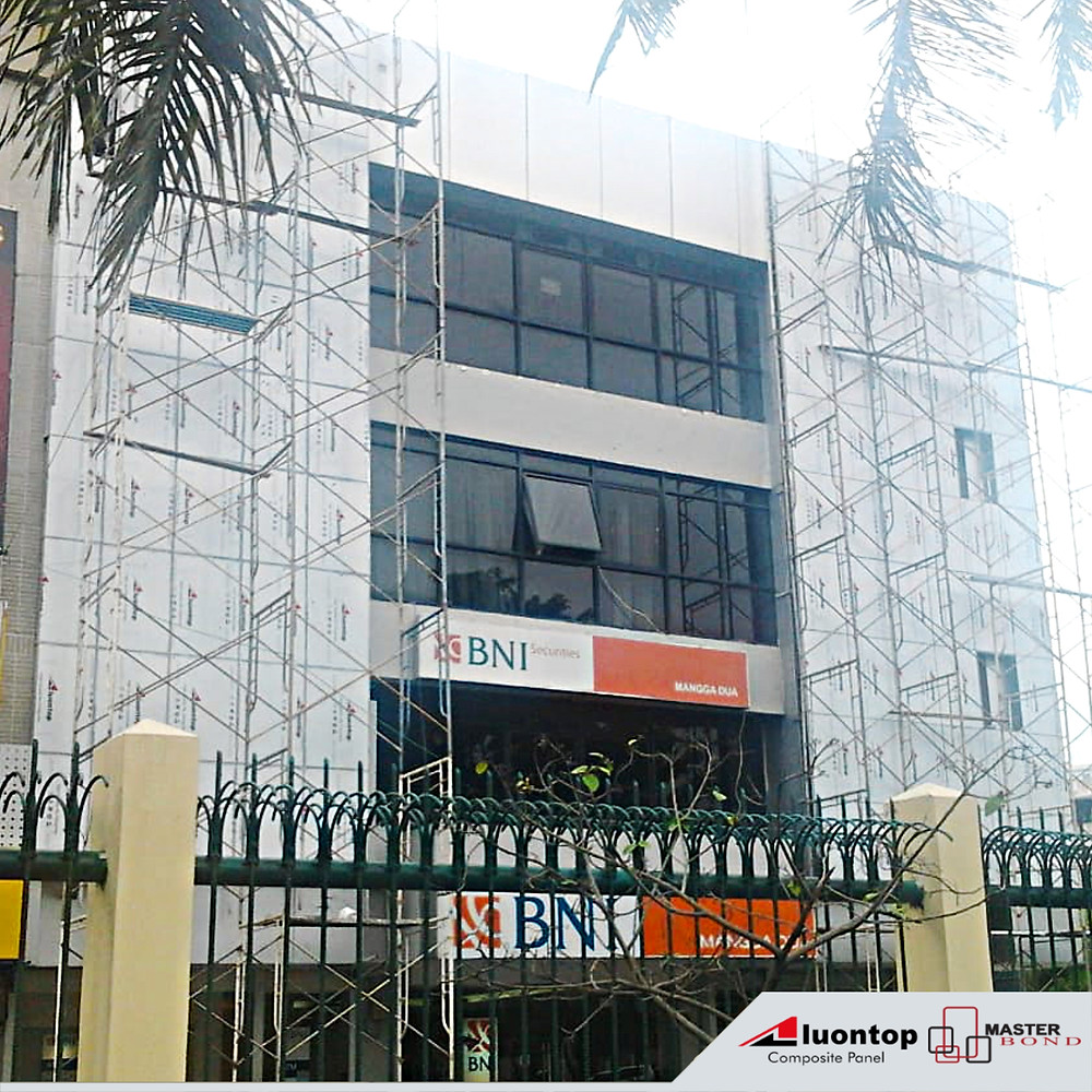 Banyak Perusahaan Nasional & Multinasional Telah Menjadi Pelanggan & Memakai ACP Aluontop