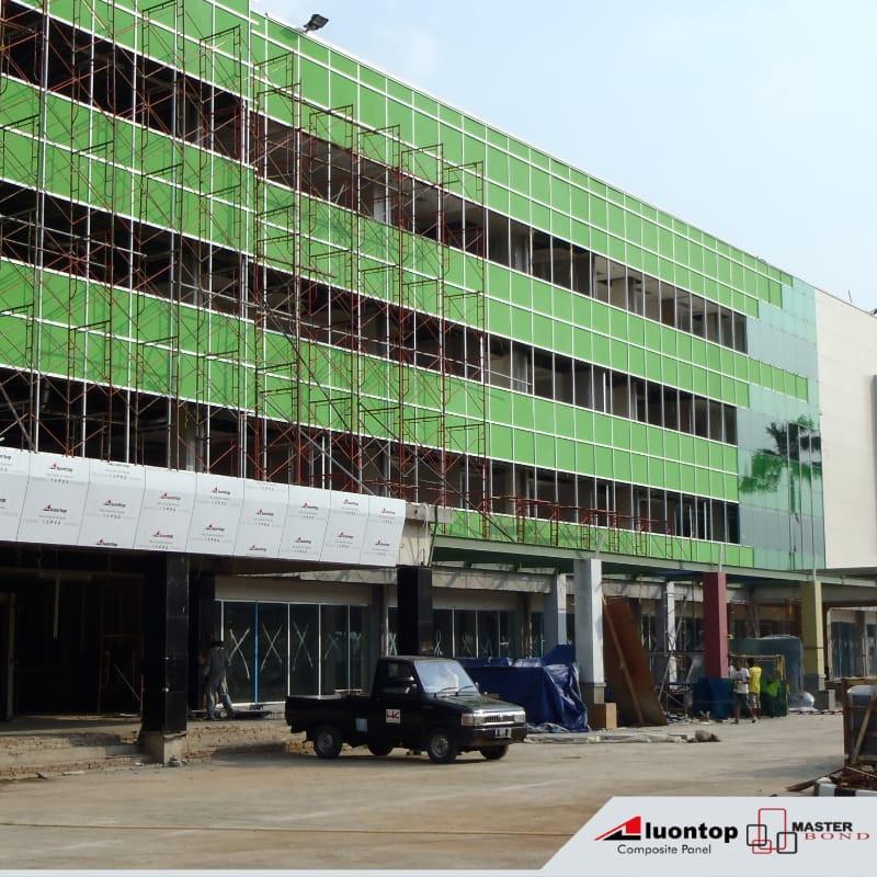 ACP Aluontop Telah Membentuk Arsitektur Modern Untuk Desain Fasad Di Indonesia