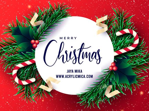 PT. Jaya Alam Persada (Jaya Mika) mengucapkan selamat Hari Natal tanggal 25 Desember 2020