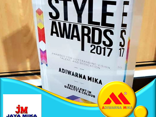 Style Award For Adiwarna Mika